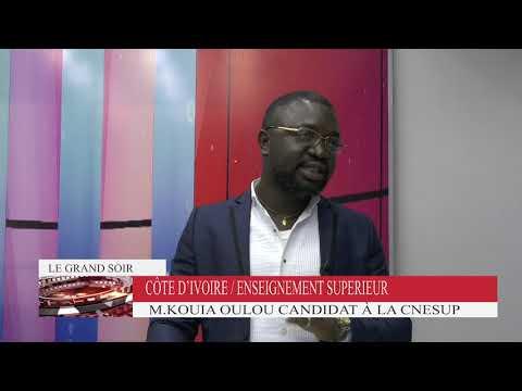 M. Kouia Oulou, candidat aux élections de SG de la Cnesup