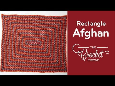 How to Crochet An Afghan for Beginners: Granny Afghan
