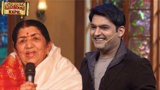 Lata Mangeshkar PERFORMS On Kapil Sharma's Comedy Nights