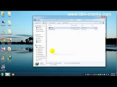 How to Install Internet Download Manager (IDM) 6.21 build 16 full with crack patch and activator