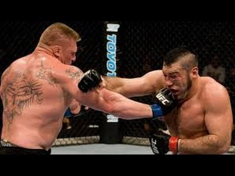 Brock Lesnar Vs Heath Herring Full Fight Night - UFC Event RESULT