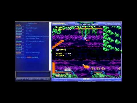 Sonic the Hedgehog 2 - Vizzed Netplay Tournament - Final Match - mvhupsel VS play4fun - User video