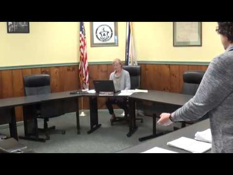 Champlain Village Board Meeting 4-6-20