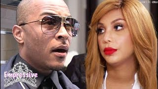 T.I. allegedly cursed out Tamar Braxton behind the scenes at the Xscape concert? YIKES!