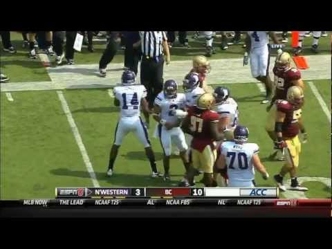 Northwestern Wildcats vs. Boston College Eagles - 9/3/11