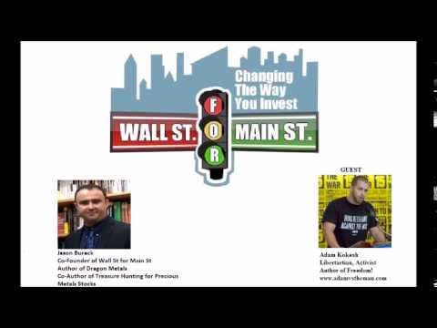 Adam Kokesh: Freedom Comes Before Free Markets