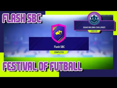 FIFA 18 - Festival of Futball - Flash SBC  - Kolumbia - Japán & Pack Opening