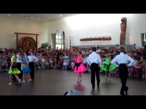 OC Dancing Kids Perform at Bowers Family Festival