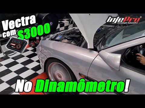 Vectra com S3000 - Passamos no Dinamômetro! - INJEPRO