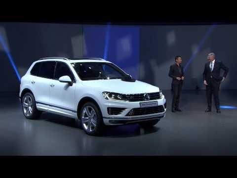 Volkswagen AG Presentation VW Touareg R Line / Touareg Hybrid | AutoMotoTV