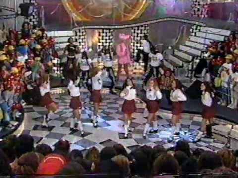 Paquitas New Generation dançando - Xuxa Hits 7/9/1996