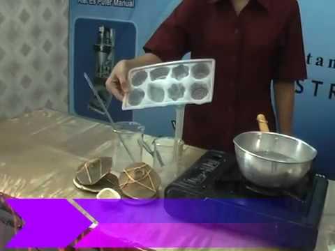 Cara Membuat Sabun Padat Transparan Aneka Bentuk.