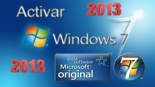 Tutorial: Activar Windows 7 [Todas Las Versiones] [32/64