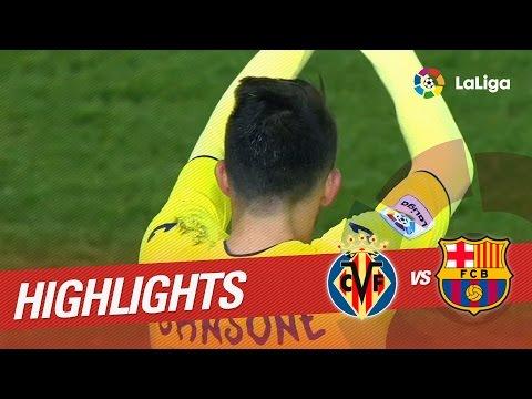 Resumen de Villarreal CF vs FC Barcelona (1-1)