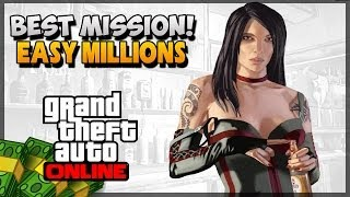 GTA 5 How To Make Money Online Best Money Mission (GTA 5