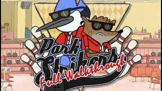 Regular Show: Park Strikers FULL Walkthrough With Pops *HD