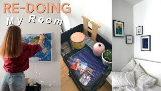 Redoing My Room 2018 ! Reorganising and decorating