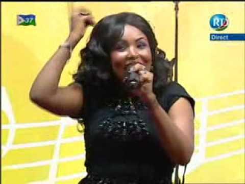 Samia Ibrahim jeune talent dans cette soirée du 12/06/2014