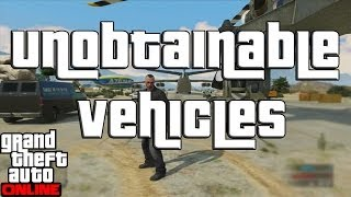 "GTA 5 Online Cars You Cant Get! Or Can YOU? ""GTA Online"