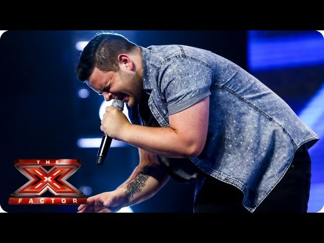 Paul Akistar sings A Song For You by Christina -- Arena Auditions Week 4 -- The X Factor 2013