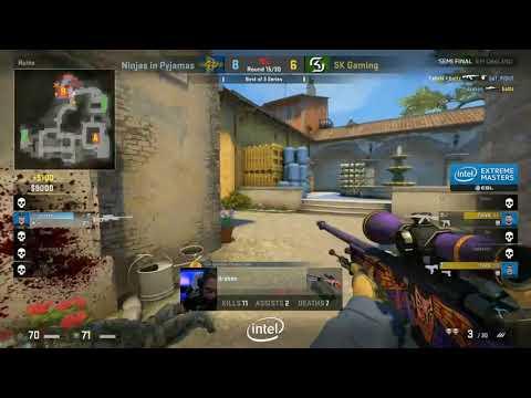 CS:GO NIP vs SK DRAKEN CRAZY AWP FLICKS!! INSANE VAC SHOTS!! DRAKEN INSANE SHOTS