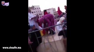 بالفيديو  لحظات قبل وصول الملك إلى مسجد الحسن الثاني !   |   بــووز