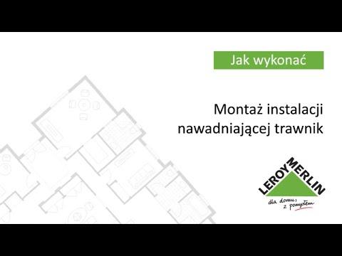 Montaż instalacji nawadniającej trawnik