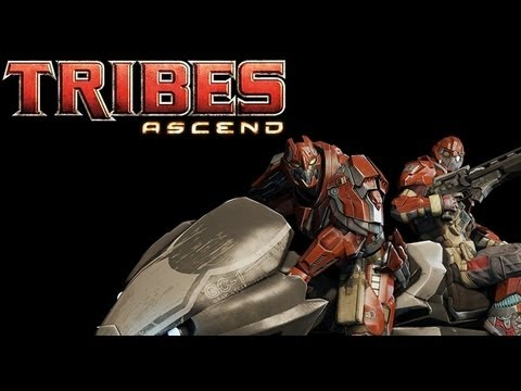 19 минут демо-версии Tribes Ascend