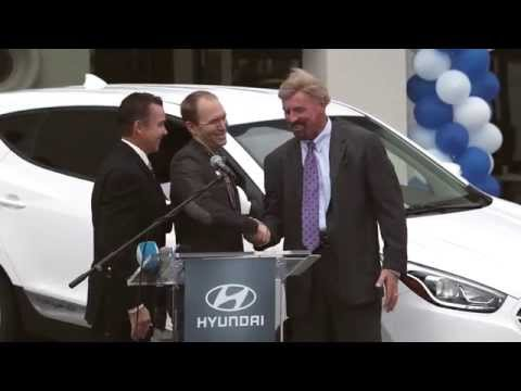 2015 Tucson Fuel Cell - First Customer Ceremony and Media Drive | AutoMotoTV