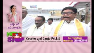 MP Murali Mohan and Paruchuri Gopala Krishna Visit Tirumala