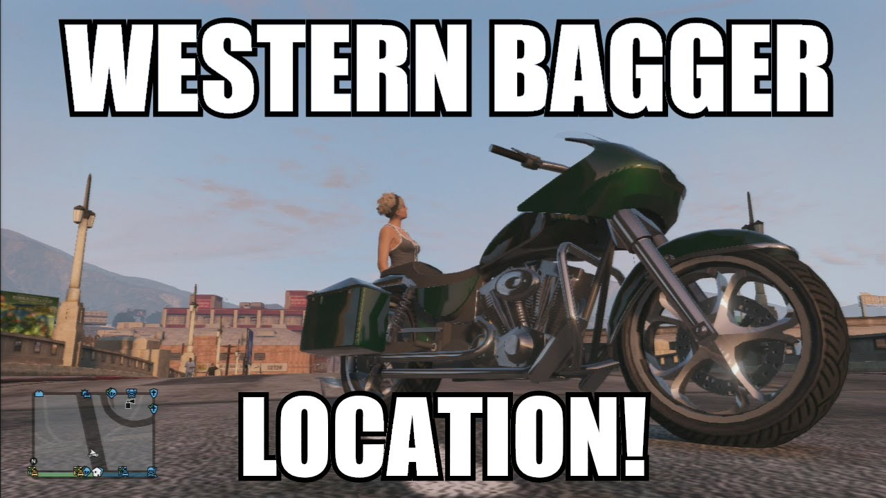 GTA V Online - Western Bagger Location Franklin's ...