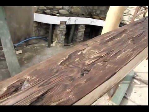 Как состарить дерево (видео урок)