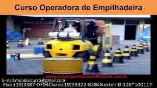 Curso para Operadora de Empilhadeira   - youtube
