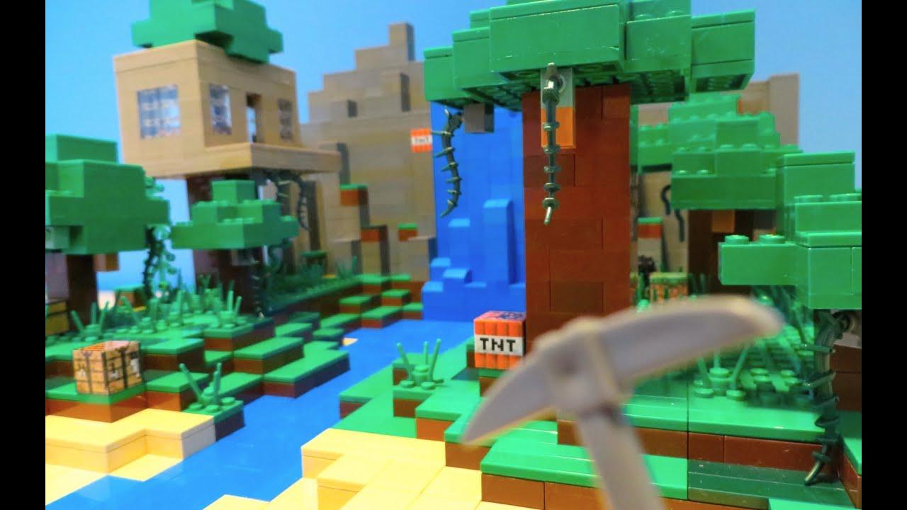 Minecraft Lego House LEGO Minecraft Jungle ...