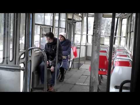 Kaliningrad tram ride 1