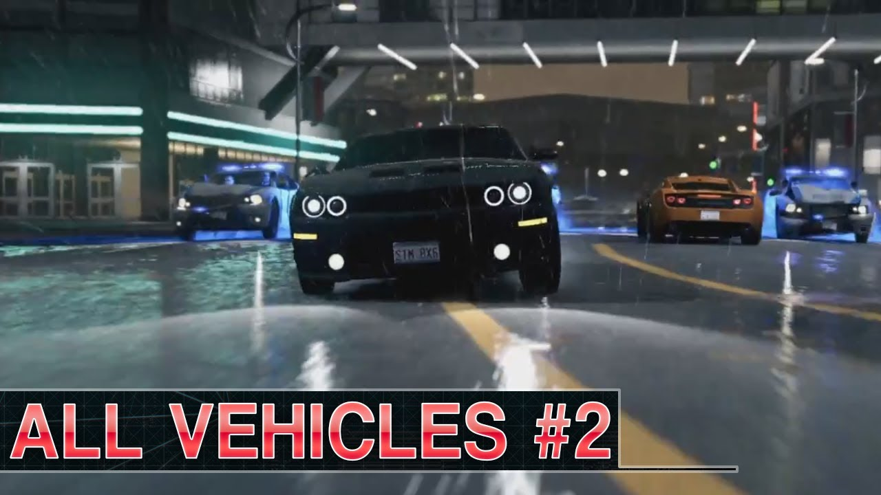 Watch Dogs All Vehicles Part 2 Youtube