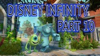 Disney Infinity Walkthrough Part 10 Monsters University