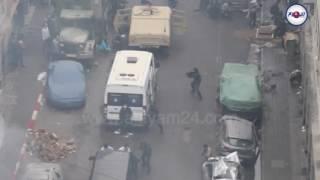 كواليس تصوير فيلم عن الحرب اليمنية في الدار البيضاء