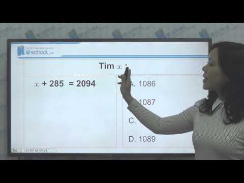 [Toán tiểu học][Toán 3, Toán lớp 3] - Cách tính phép trừ trong phạm vi 10,000 - [Lika-K12school]