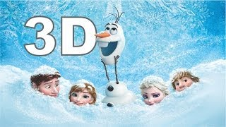 Frozen Uma Aventura Congelante Trailer Dublado 3D