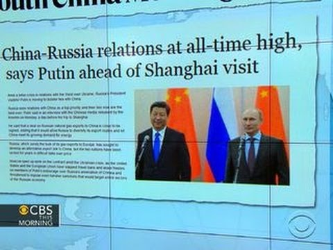 Headlines: Putin says Russia's relations with China at all-time high