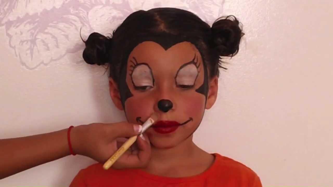mickey mouse schminken