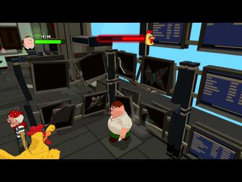 Family Guy: Back to the Multiverse walkthrough - Chicken Fight