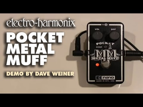 Electro Harmonix Nano Pocket Metal Muff Effects Pedal for Guitar