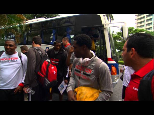 The Pacers and Rockets Arrive to the Philippines!