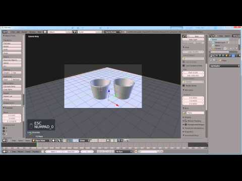 tutorial: How to use solidify modifer in Blender 3D