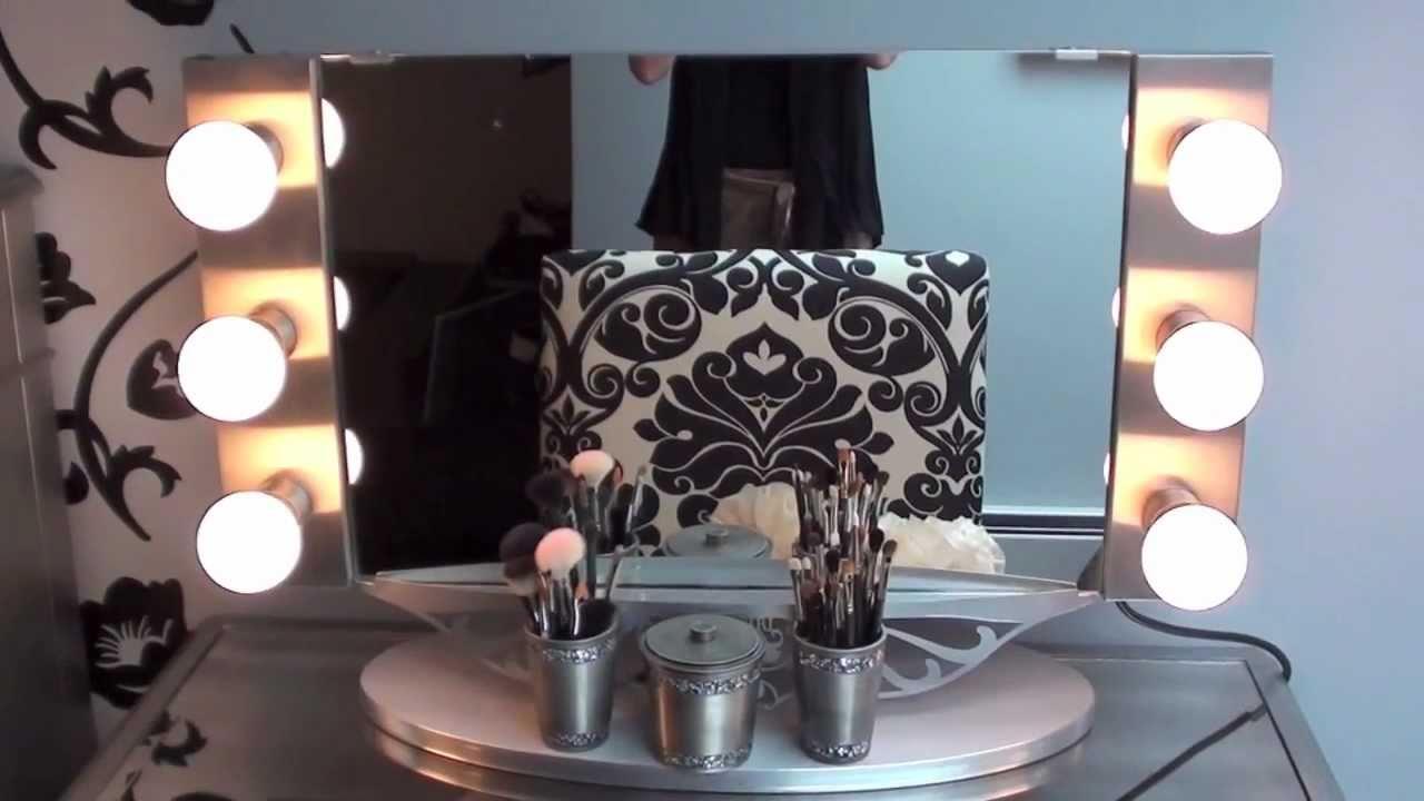 vanity girl hollywood mirror review hayworth vanity youtube. Black Bedroom Furniture Sets. Home Design Ideas