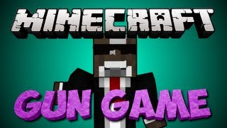 Minecraft GUN GAME Minigame #2