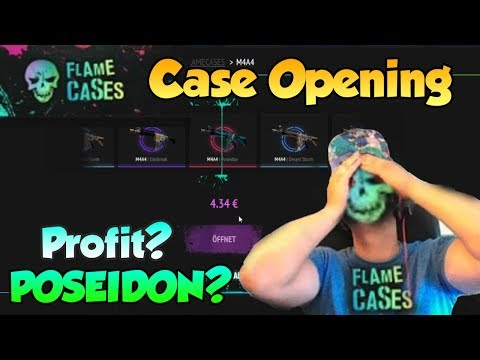 CS:GO FLAME CASES Case Opening!!! wird es die POSEIDON?!?!?!?!