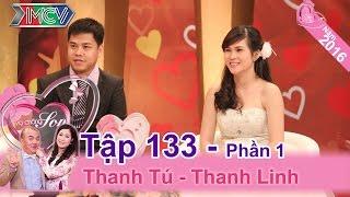 Chú rể vượt nửa vòng trái đất về cùng vợ tham gia Vợ Chồng Son | Thanh Tú - Thanh Linh | VCS 133